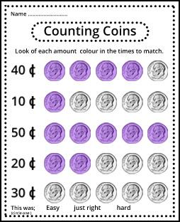 Counting Money Games for 1st Grade Kids Online - Splash Math